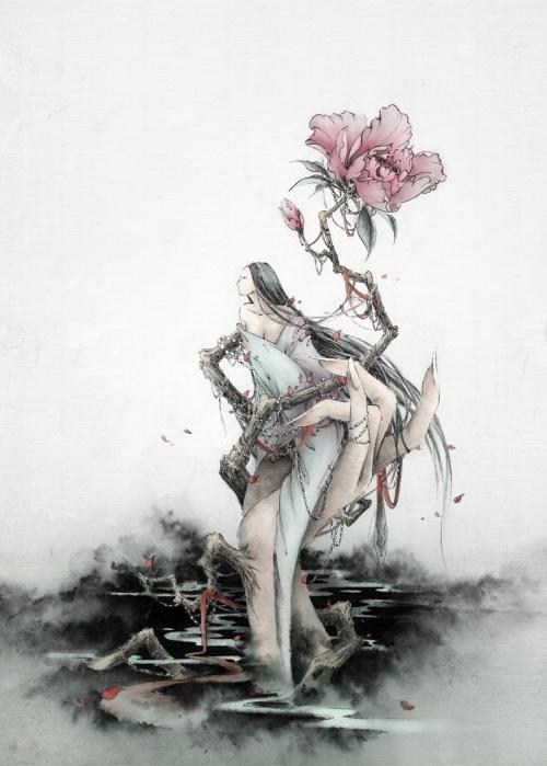 ...chấp niệm có thể khiến một cô gái mỹ lệ biến thành ác quỷ.
