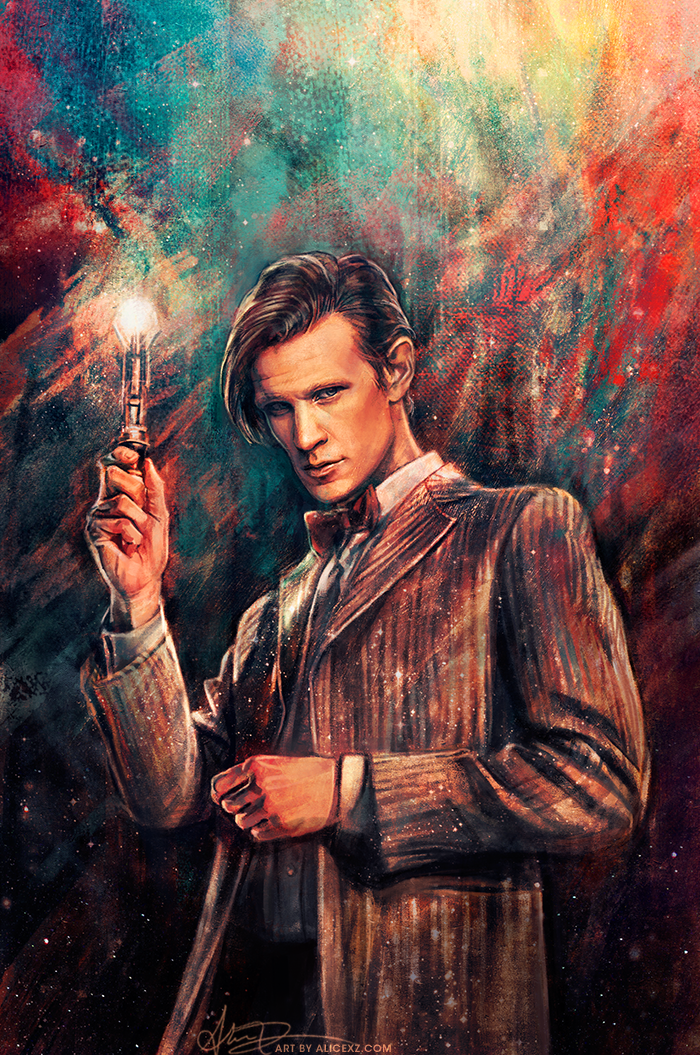 doctor_who__the_eleventh_doctor_by_alicexz-d7x5fx8